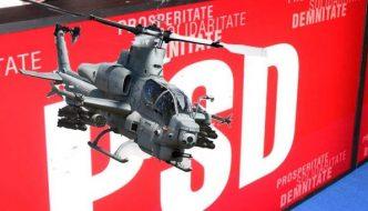 Statele Unite a acceptat cererea PSD de a produce elicoptere de lupta invizibile ultra avansate AH-1Z in Romania